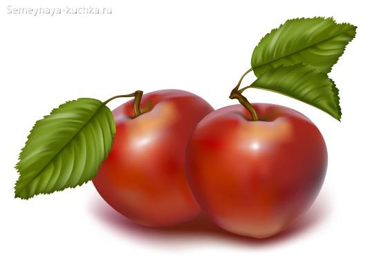 картинка фрукт яблоко