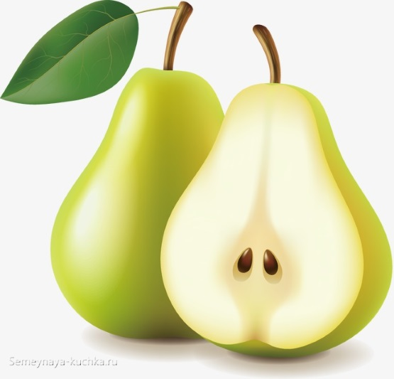 картинка фрукт груша
