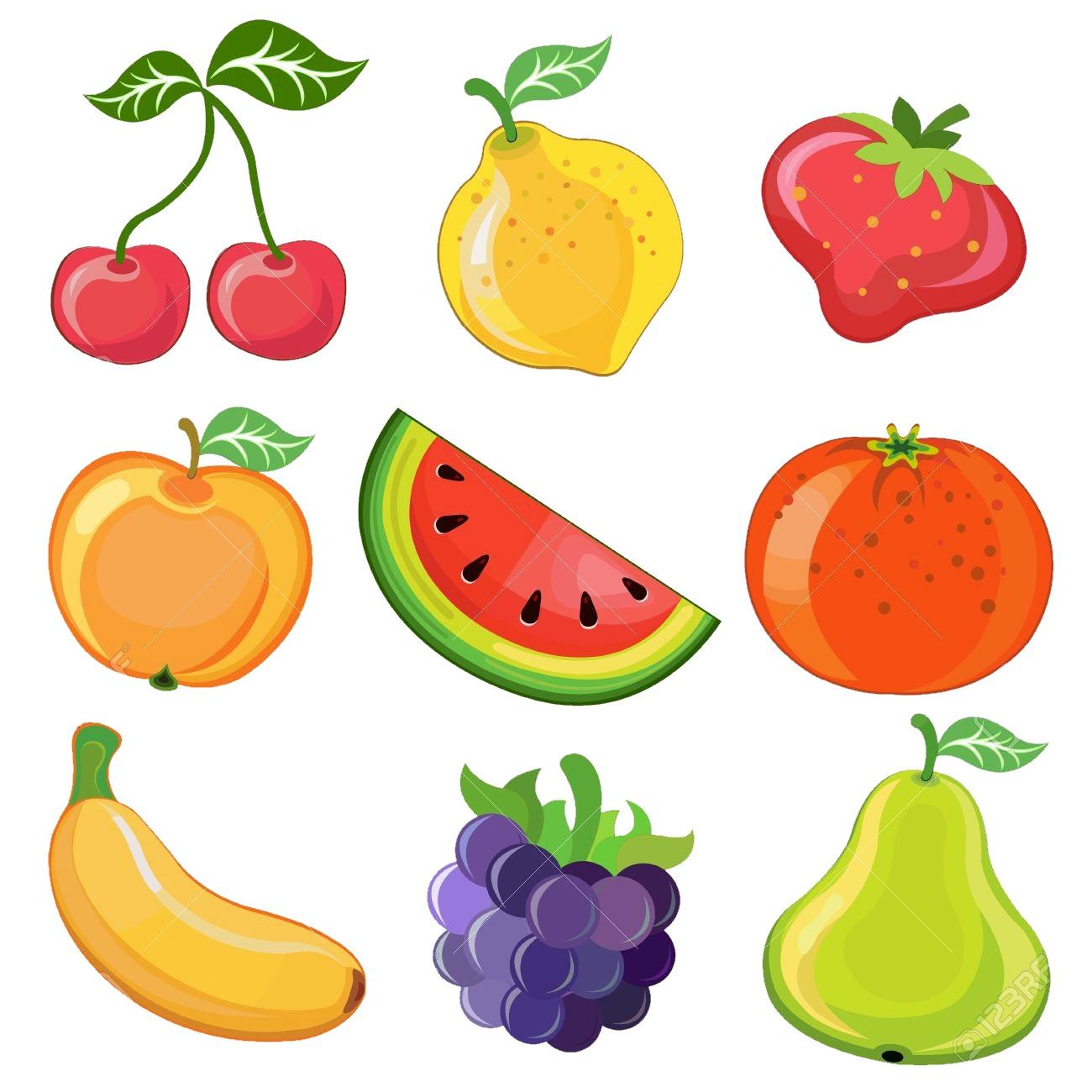 картинка большой плакат фрукты