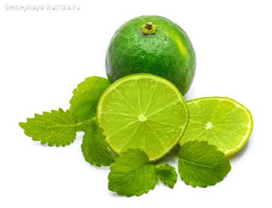 картинка фрукт лайм