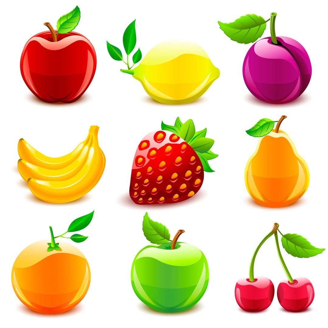 картинка фрукты детям