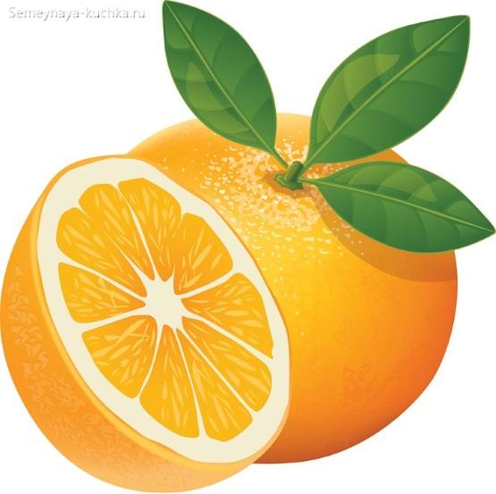 картинка фрукт апельсин