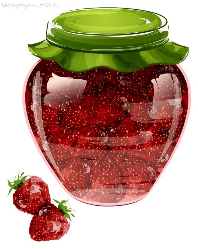 картинка варенье из ягод