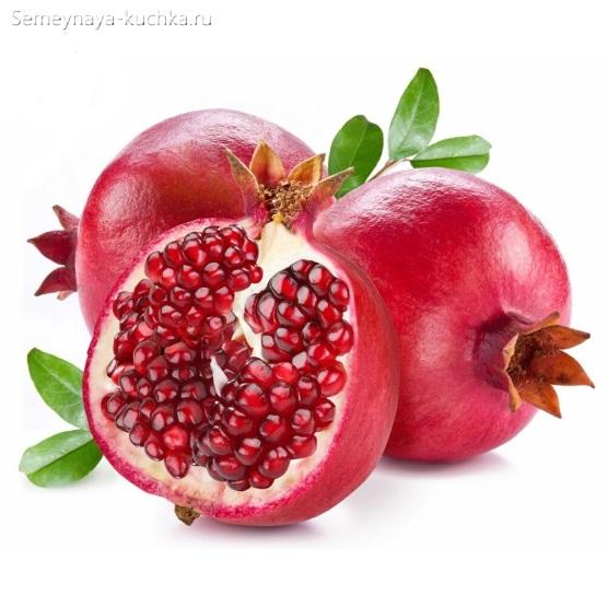 картинка фрукт гранат