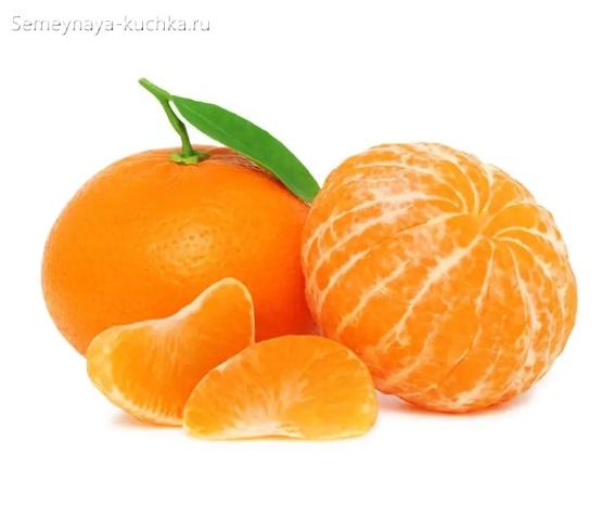 картинка фрукт мандарин