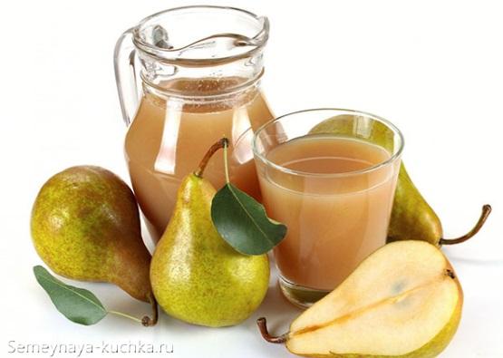 картинка фруктовый сок из груши