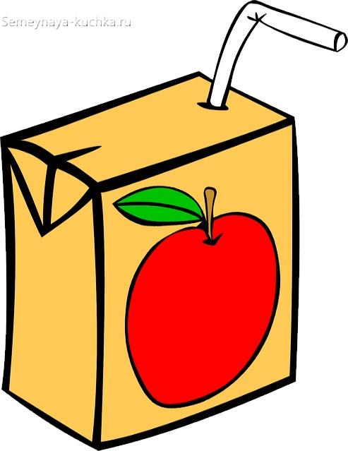 картинка фруктовый сок