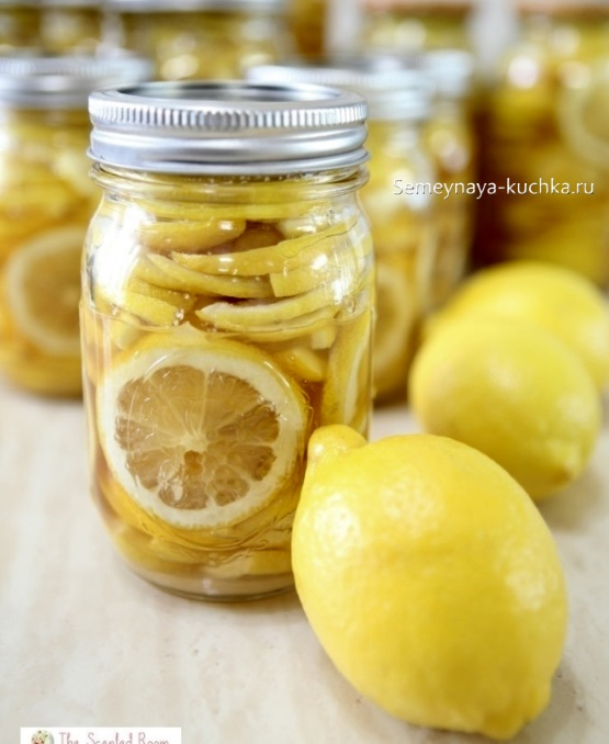 картинка фрукт лимон в банке