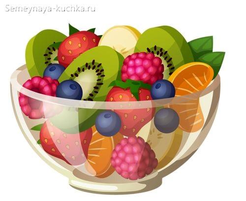 картинка фруктовый салат