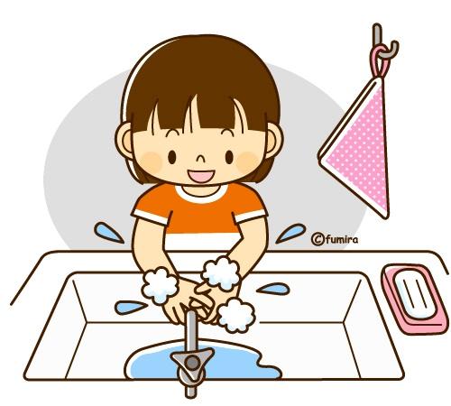 картинка дети моют руки с мылом