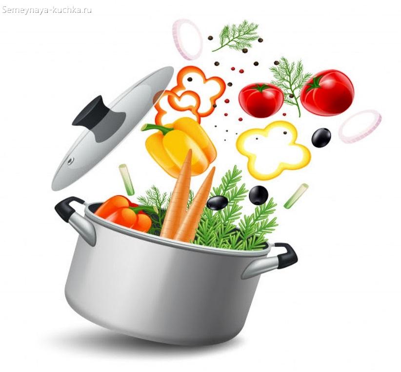 что делают из овощей картинка суп