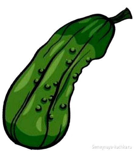 картинка овощ огурец