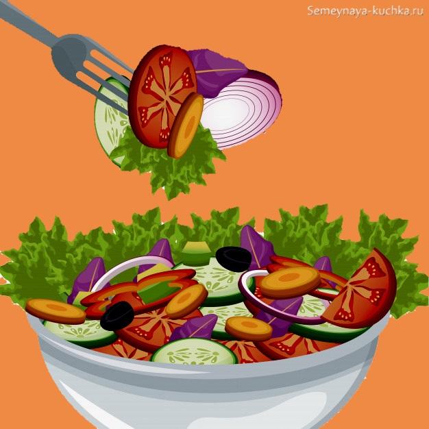 картинка что делают из овощей