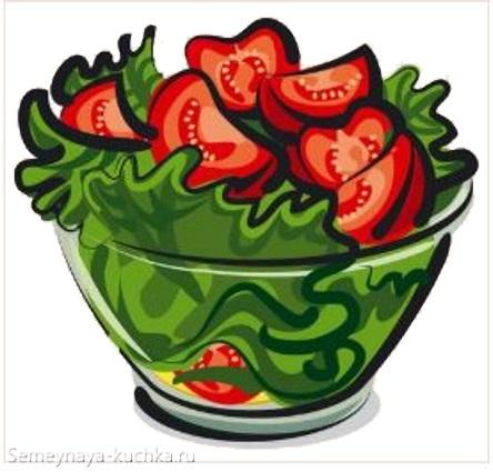 картинка салат из помидор