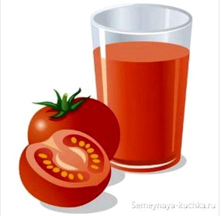 картинка овощной сок из помидор томатный