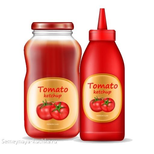картинка соус томатный кетчуп