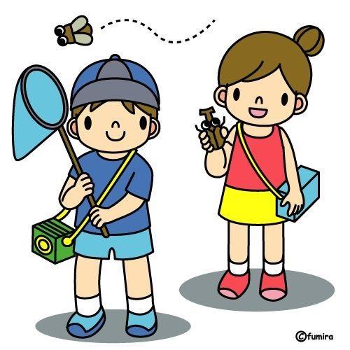картинка дети летом на прогулке