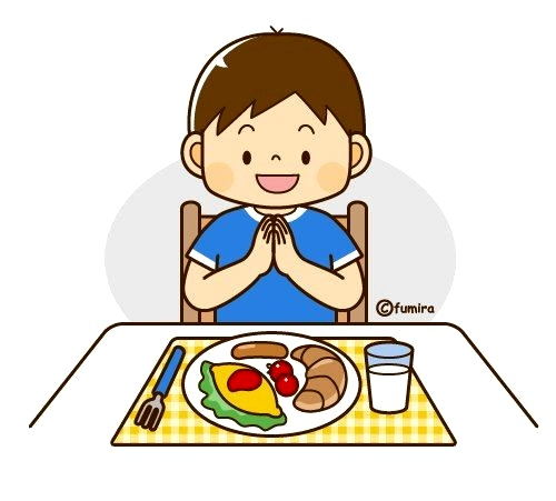 картинка мальчик кушает