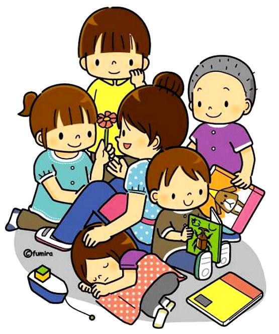 картинка дети играют на ковре