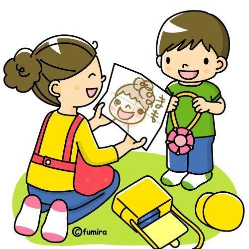 картинка ребенок дарит маме рисунок