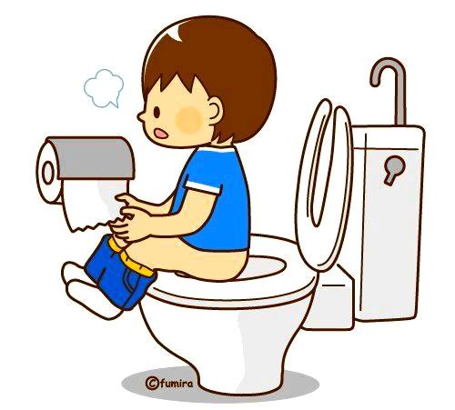 картинка ребенок на унитазе