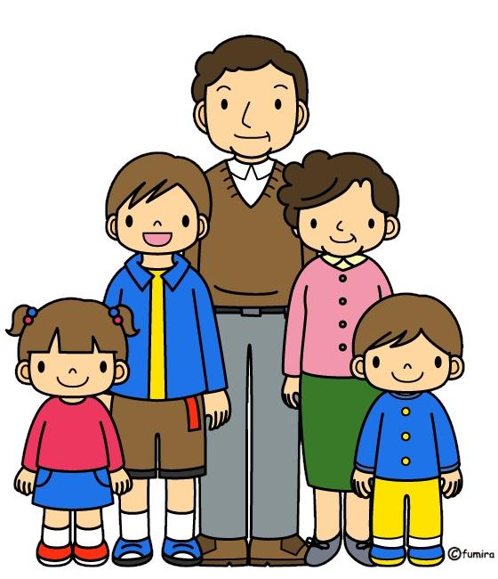 картинка дети у дедушки и бабушки