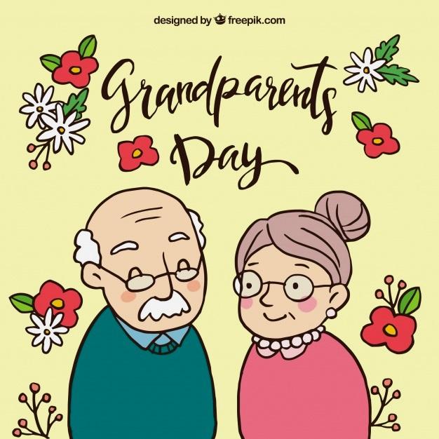 картинка семья бабушки и дедушки