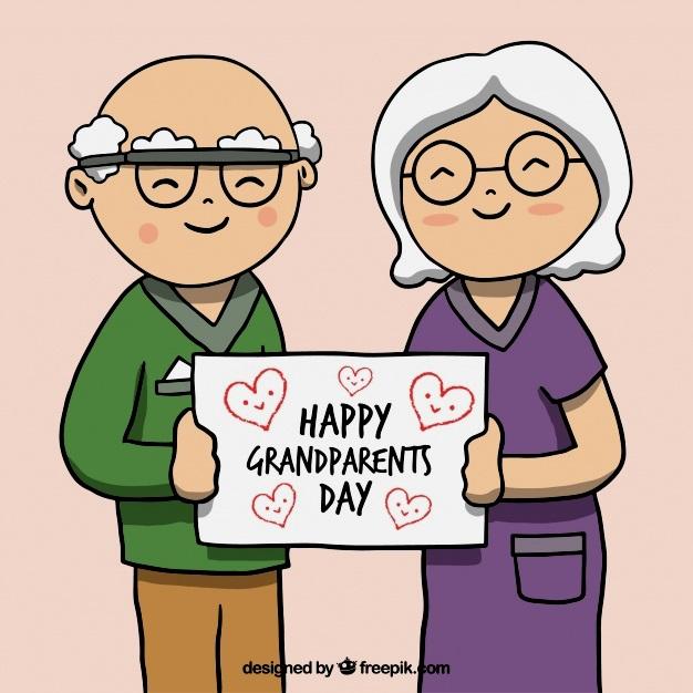 картинка бабушка и дедушка