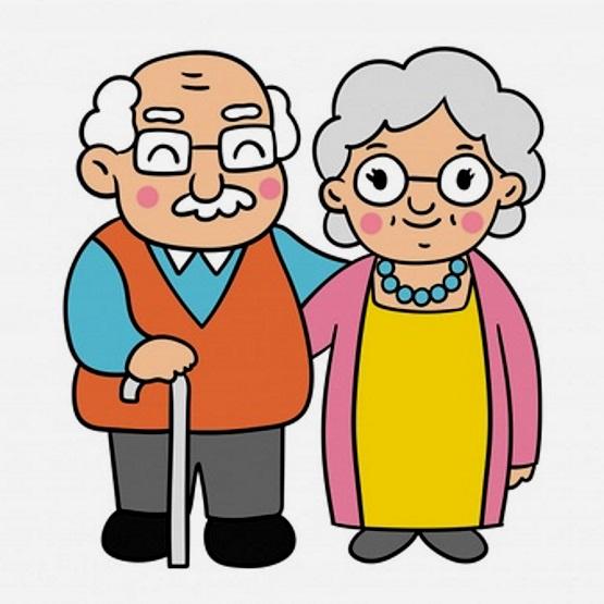 картинка семья бабушка и дедушка