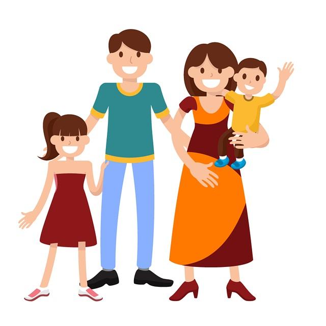 картинка семья