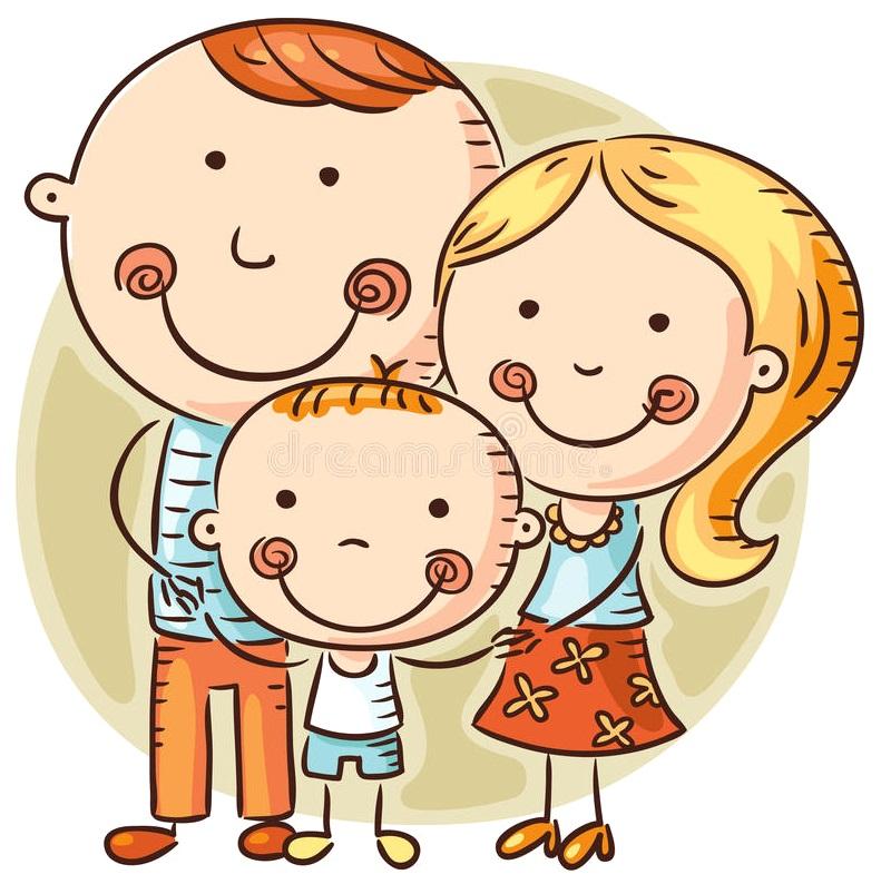 картинка семья с мальчиком