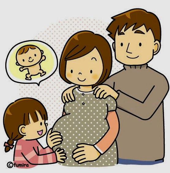 картинка семья ждет ребенка