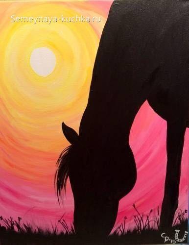 поделка на 2 класс лошадь