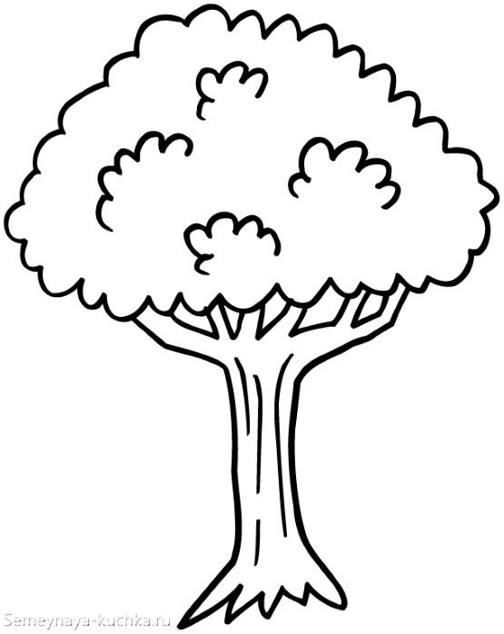 шаблон дерева
