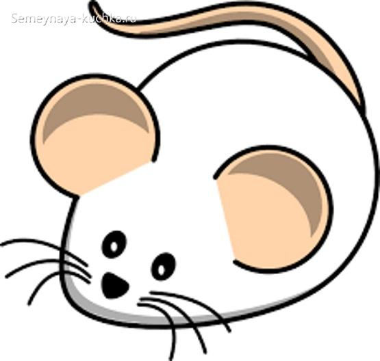 ка детей научить рисовать мышку
