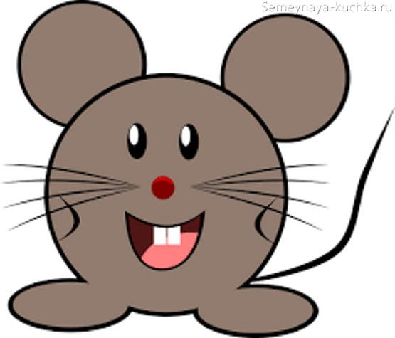 детская картинка мышка
