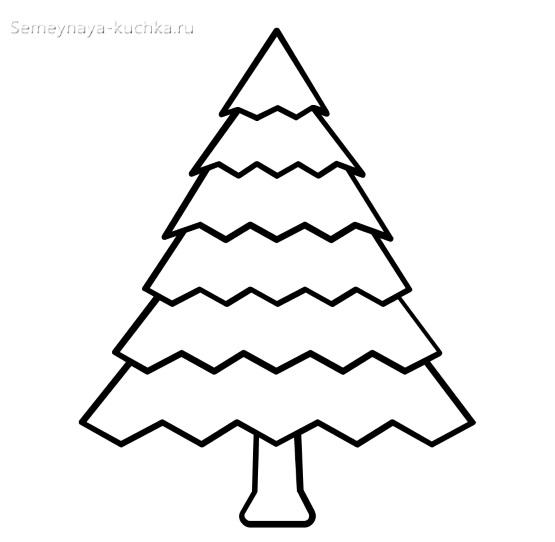 ярусная елка