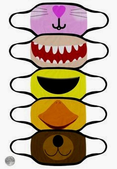 защитные маски для детей выкройка