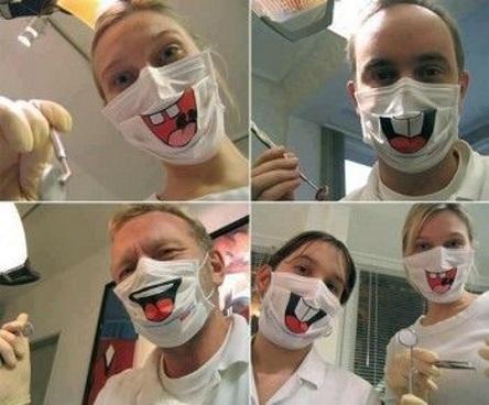 маски для лица смешные с принтом