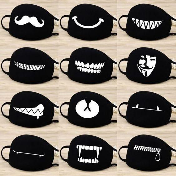 идеи принтов на маску для парней и мужчин