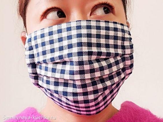 плотная защитная маска своими руками