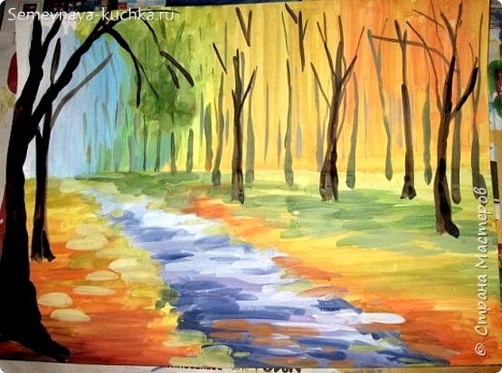 как нарисовать очень красками